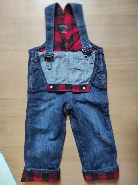 Комбинезон джинсовый на подкладке Gap