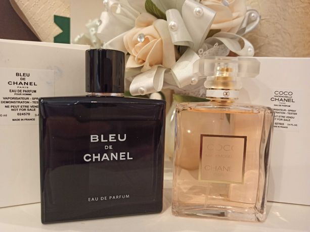 Chanel Coco Mademoiselle Bleu de Chanel тестер 100 мл