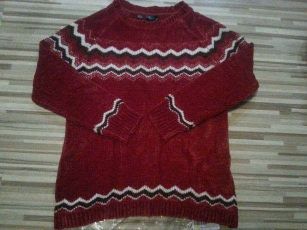 Sweter Bon Prix wzór norweski 40/42 nowy