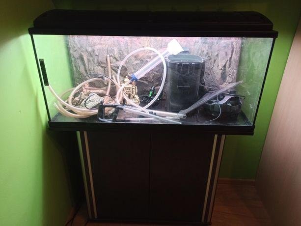 Akwarium 200 l + wyposażenie