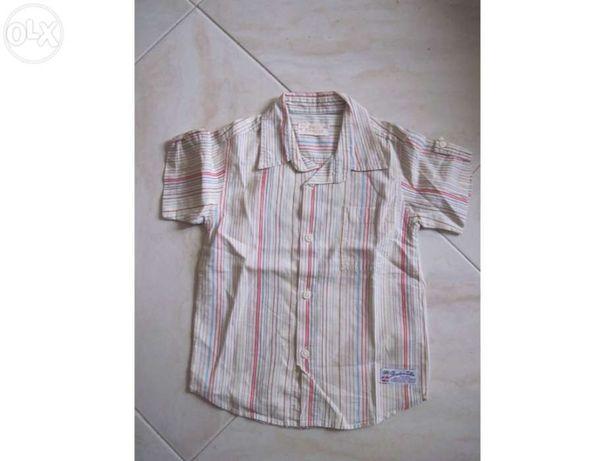 Camisa verao petit patapon tamanho 18 meses