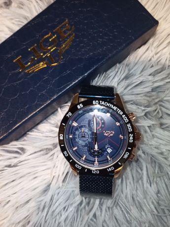 Zegarek męski LIGE niebieski