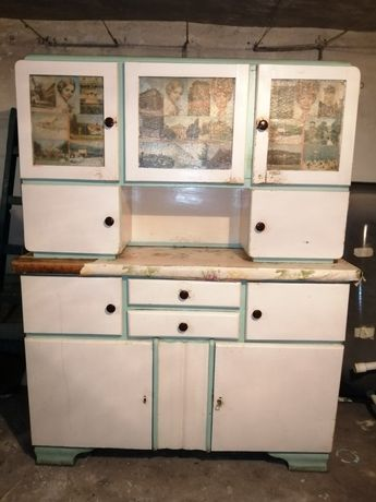 Kredens kuchenny stary zabytkowy antyk