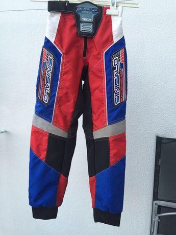 Calças de motocross/enduro de criança Sinisalo