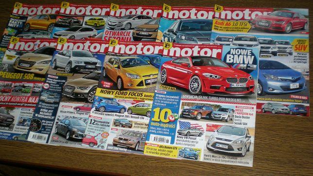 Motor 2011 - numery od 3 do 11 - 6zł za cały zestaw! - stan bdb/-bdb