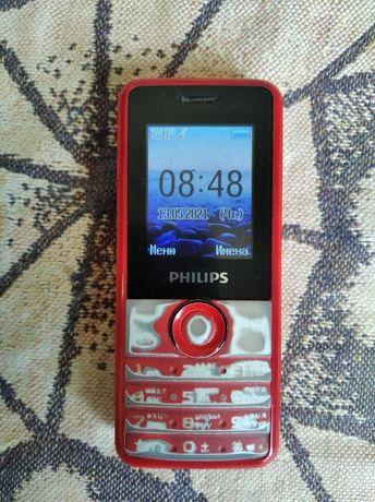 Надежный, двухсимочный телефон Philips Xenium E103