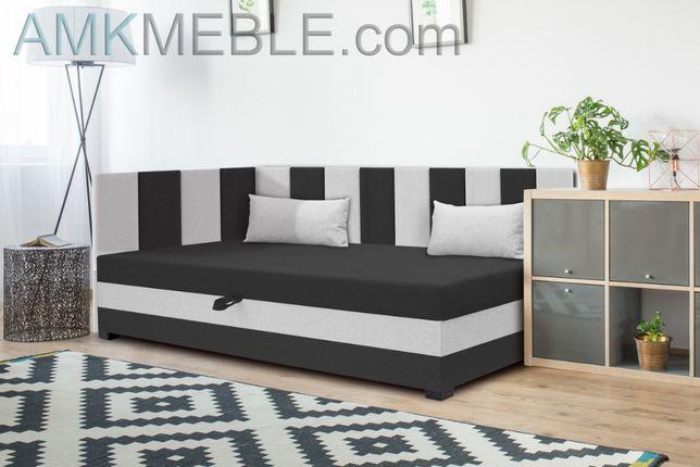 Tapczan sofa kanapa pojedyncza tapicerowana szybka realizacja Nowość