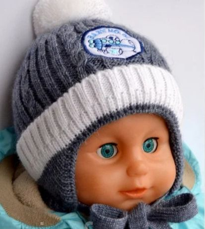 Зимняя детская шапка, шапочка