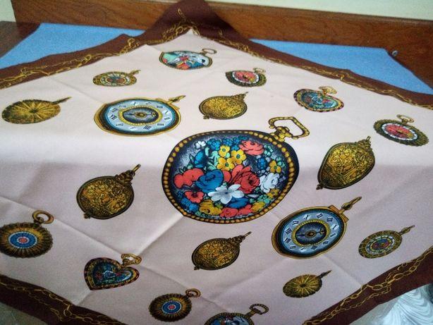 Шелковый платок шарф Jean de bahrein Boselli производство Италия