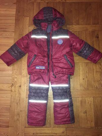 "Куртка и комбинезон(зима)на мальчика,рост 110,фирма ""Барбарис"""