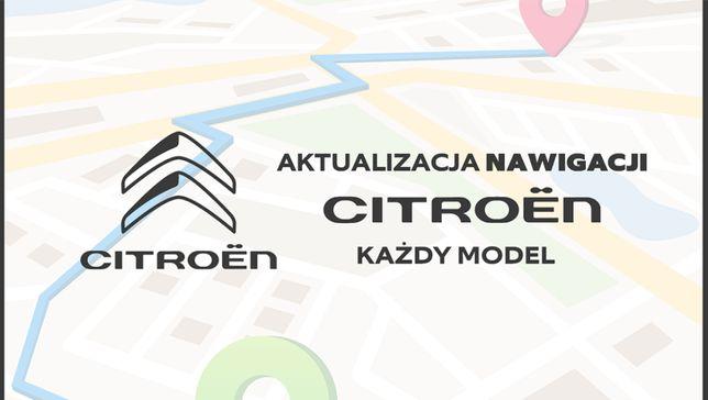 Aktualizacja Map Citroen 2020+FOTORADARY KAŻDY MODEL