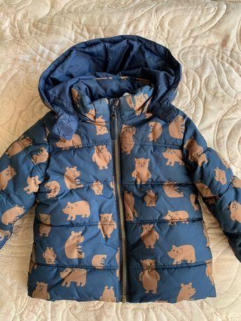 Тёплая курточка на мальчика H&M
