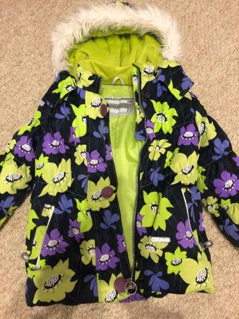 Зимняя куртка для девочки Lenne Poppy 104-110