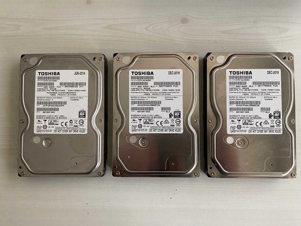Lote Disco Rigido HDD Toshiba 500GB 7200rpm