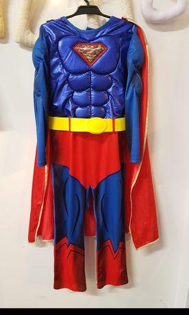 Strój karnawałowy Superman r.122/128
