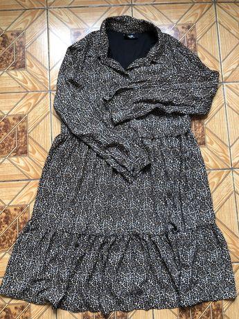 Платье в леопардовый принт Wallis