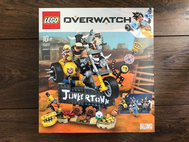 LEGO Overwatch 75977 Wieprzu i Złomiarz - NOWE