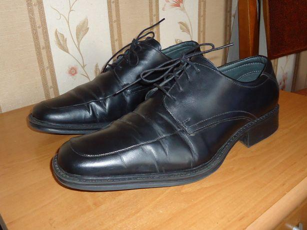 Мужские кожаные туфли , размер 42(28)