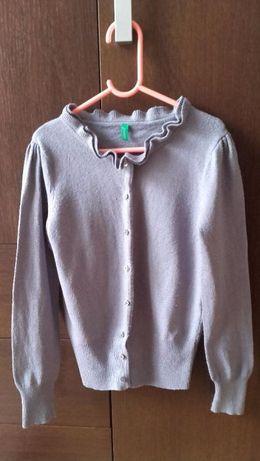 Szary sweterek BENETTON 130