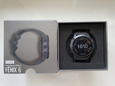 Новые часы Garmin Fenix 6 pro solar