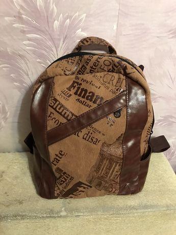 Новый рюкзак ручной работы
