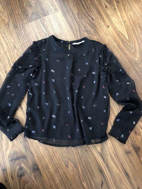 Piękna elegancka bluzka H&M rozmiar 146