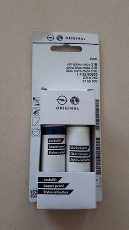 Lakier zaprawkowy - Opel Astra H oryginał Ultrablau Mica 21 B