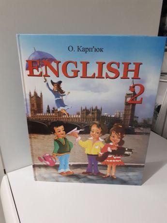 Книга 2 класс ENGLISH.