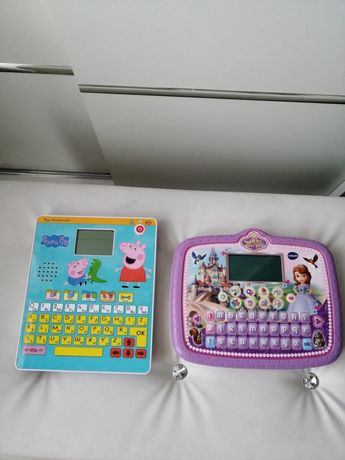 Tablet świnka peppa i tablet vtech księżniczka zosia