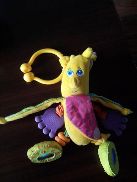 Банан tiny love погремушка-прорезыватель-шуршалка