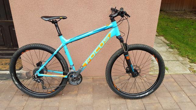 Rower mtb górski Focus whistler 3x9 Deore rock shox 27.5 powystawowy