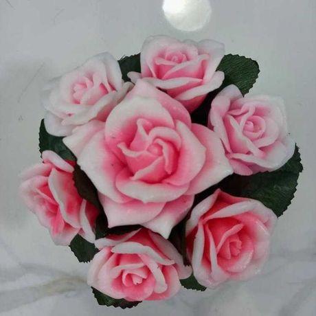 Мыльный букет из роз.Мыло ручной работы