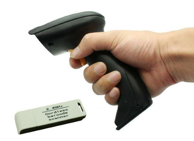 2.4G Беспроводной сканер штрих кода штрих-кодов 100м