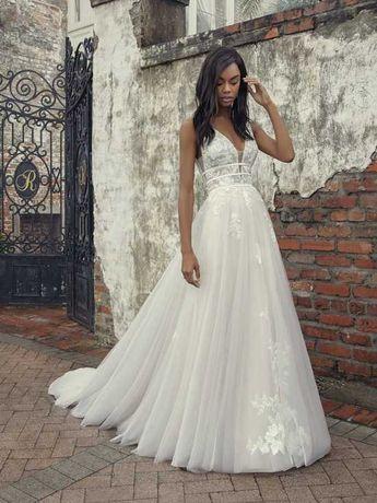 Vestido Noiva - Maggie Sottero - tamanho 34/36 Raelynn