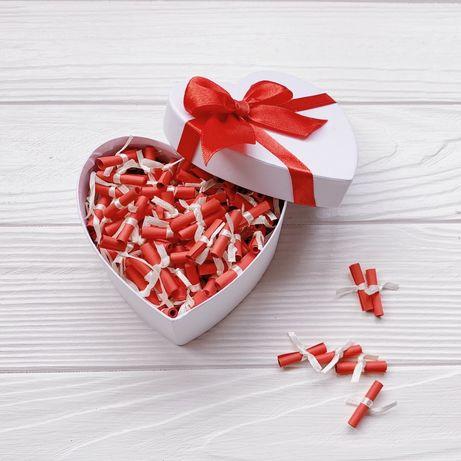 Подарунок для дівчини хлопця 100 причин почему я тебя люблю чому кохаю