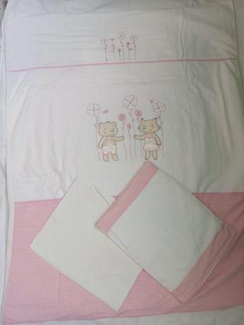 Детское постельное белье в кроватку с бортиками Veres