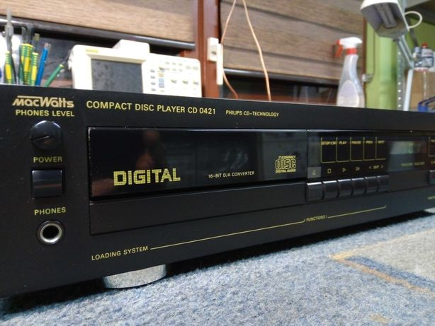 odtwarzacz cd compact unitra diora cd 0421 mac watts ideał gwarancja