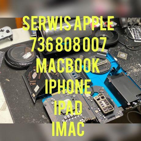 Macbook iphone ipad imac serwis pogwarancyjny warszawa