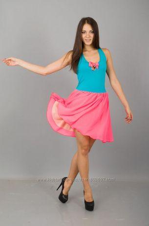 Новое красивое летнее платье 42-44