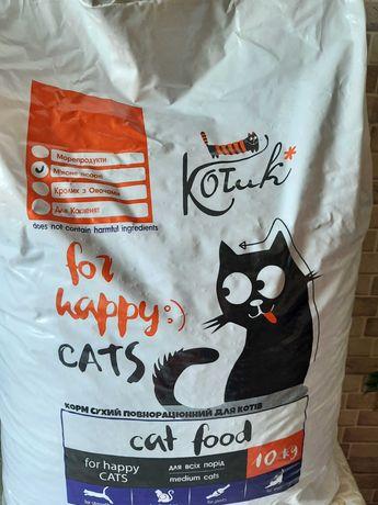 Корм для котов 10 кг Котик