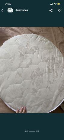 Матрас кокос на круглую кроватку