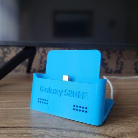 Stojak stacja dokująca do telefonu Samsung S20 FE ładowarka