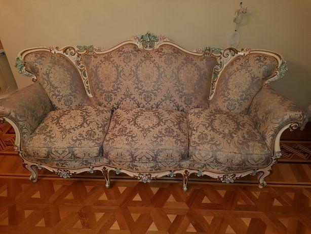 Барокко диван і два крісла