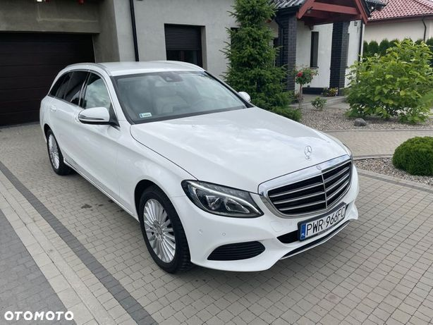 Mercedes-Benz Klasa C * Ambiente * LED y * Pełen serwis * Nowe opony *