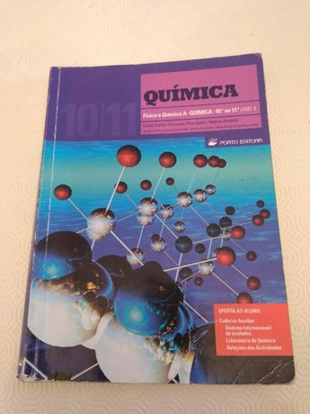 Química 10,11 ano - Física e Química A