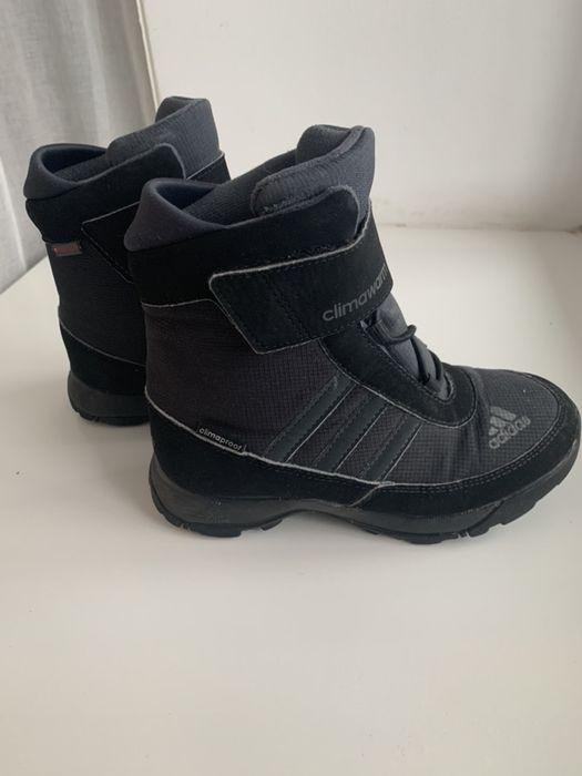 Зимние ботинки adidas 30р. Вишневое - изображение 1