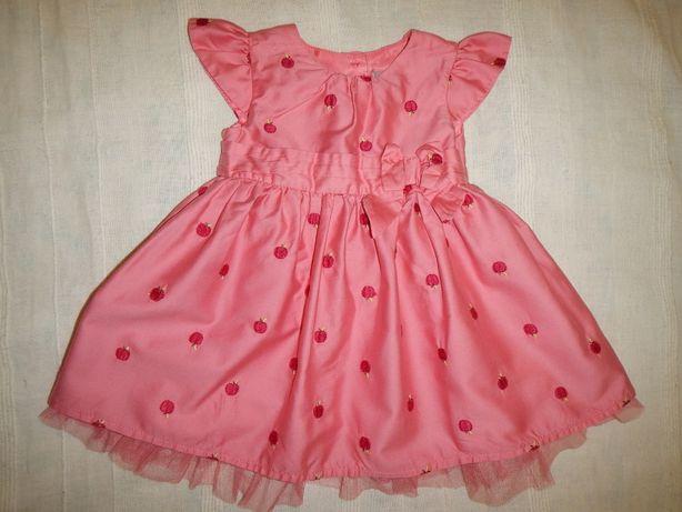 нарядное платье TU р.62-68см(3-6мес)