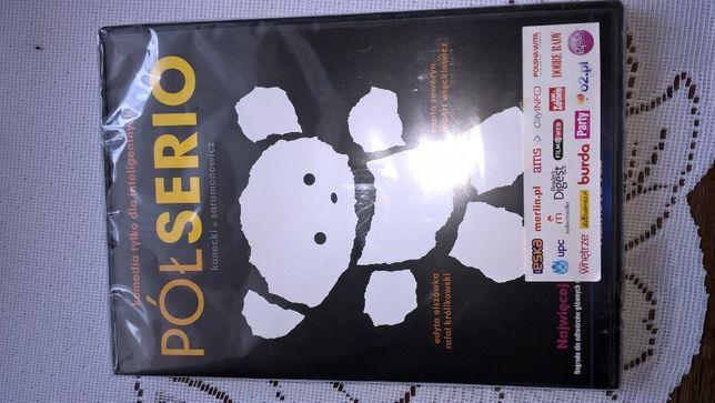 Pół serio film VCD nowy w folii