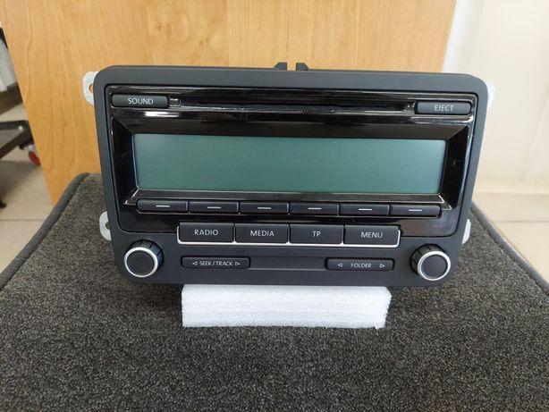 Oryginalne Radio Nawigacja Volkswagen Vw RCD 300