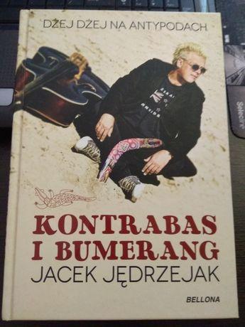 Kontrabas i bumerang Dżej Dżej na Antypodach Jacek Jędrzejak JAK NOWA